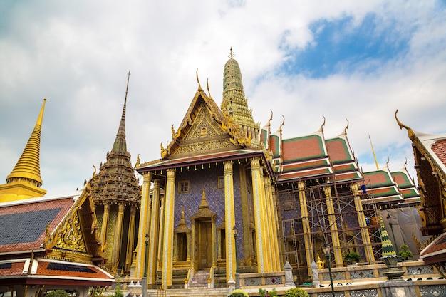 태국 방콕의 왓 프라깨우(에메랄드 사원)