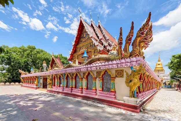 Wat phra nang sang temple attractions and place of worship in phuket province, thailand