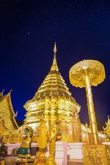 Ват пхра тхат дой сутхеп в чиангмае, таиланд.