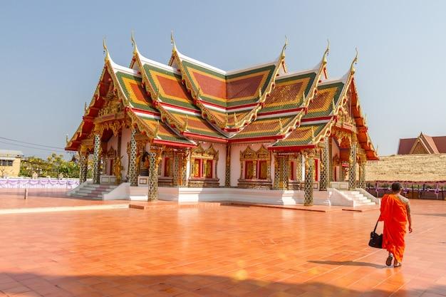 Wat pratat choeng chum, it is a major temple in sakon nakhon province,thailand