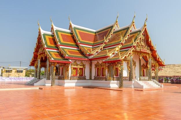 Wat pratat choeng chum in sakon nakhon province,thailand