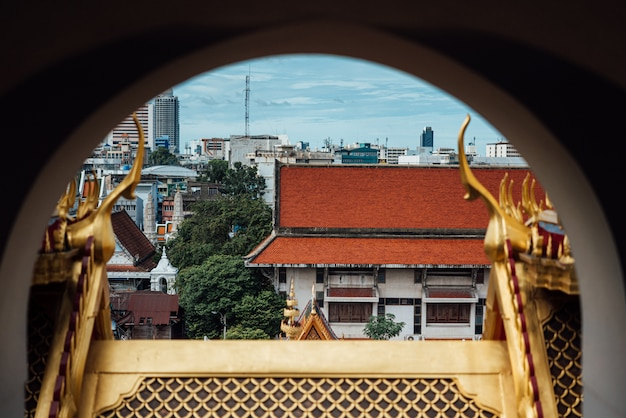 Wat ratchanatdaram and loha prasat (iron castle)