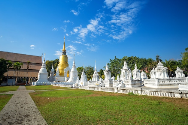 Wat suan dok is a buddhist temple (wat) in chiang mai, northern thailand.
