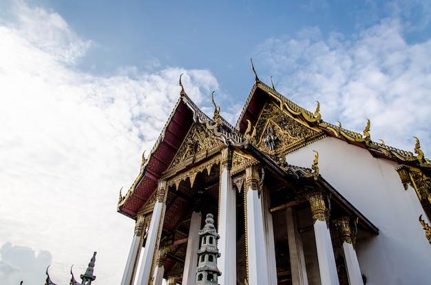 Wat suthat thepwararam、バンコク、タイ