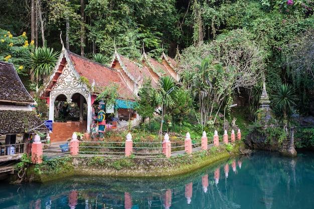 Wat tham chiang dao, chiang mai province, nothern thailand
