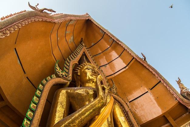 Wat tham sua is the most beautiful temple in kanchanaburi thailand.