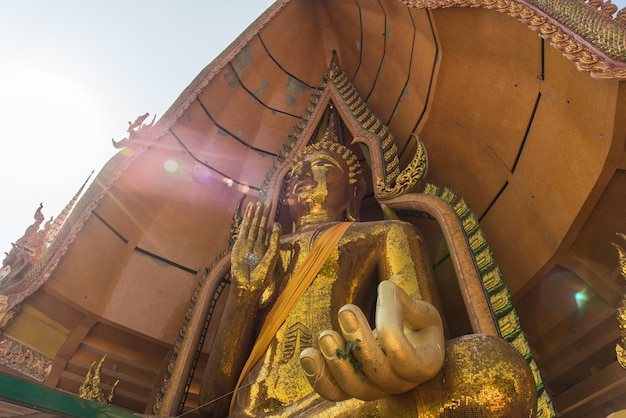 Wat tham sua is the most beautiful temple in kanchanaburi thailand
