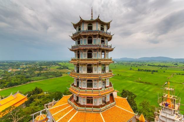 Wat tham sua в канчанабури, таиланд