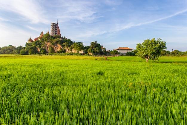 Wat tham suea в провинции канчанабури в таиланде
