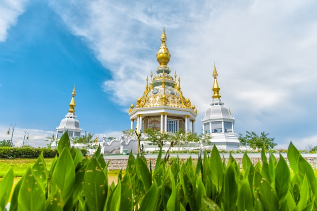 Wat thung sethi temple (wat thung mueang) at khon kaen is a tourist attraction, thailand.