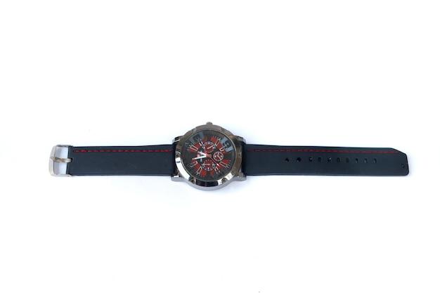 白い背景で隔離の時計