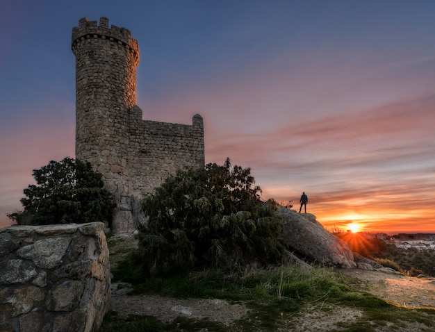 The watchtower at sunrise