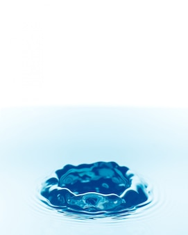 Water drops falling background