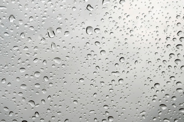 Water drops on glass window background.