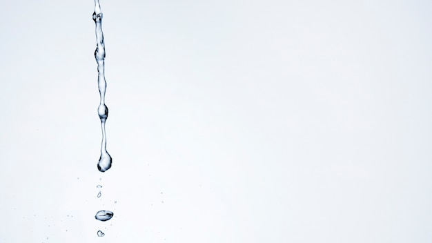 Water drops with copy space