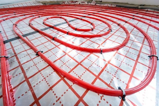 물 난방 시스템 및 바닥 난방 시스템