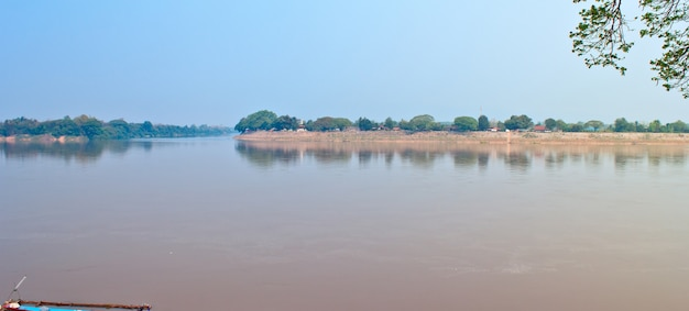 The water in the mekong river