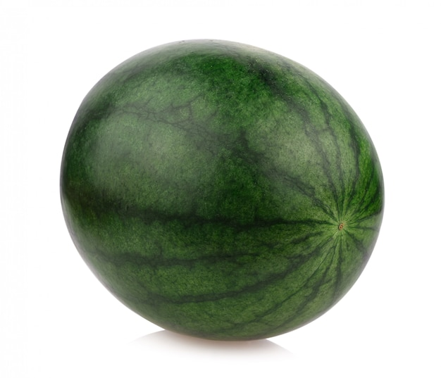 Water melon isolate on white background