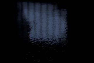 Water reflection, bars