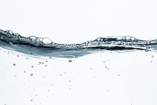 Fondo di struttura dell'acqua, liquido trasparente