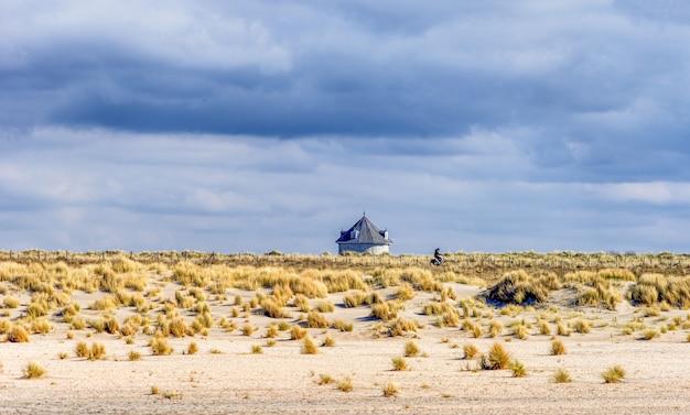 ハーグの砂丘にある給水塔