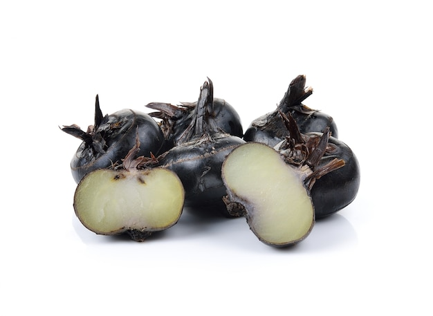 Waterchestnuts isolated on a white