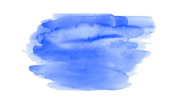 Watercolor abstract brush strokes background