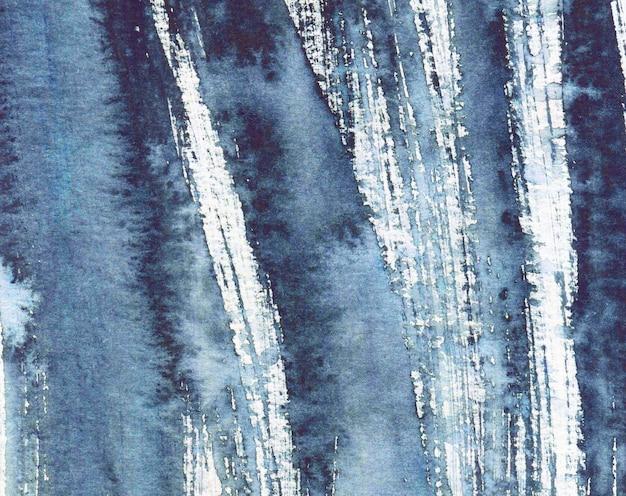 Акварель абстрактный гранж-фон, монохромный, ручная роспись текстуры, акварельные пятна.