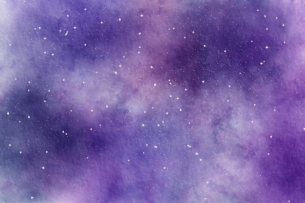 水彩の抽象的な空間星空の背景