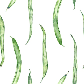Watercolor ackground of organic vegetables