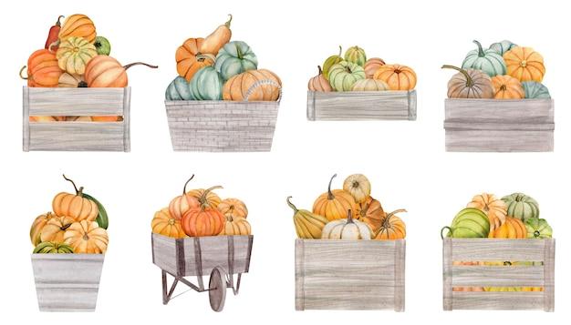 수채화가 디자인 요소,가, 흰색 배경에 고립 된 휴가 클립 아트.