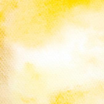 수채화 배경, 예술 추상 노란색 수채화 그림 질감