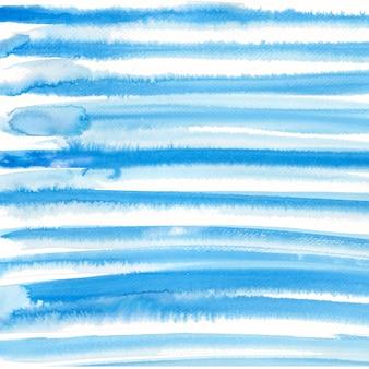 スカイブルーの色で水彩画の背景。