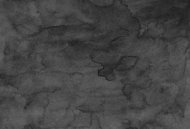 Акварель черно-серая текстура