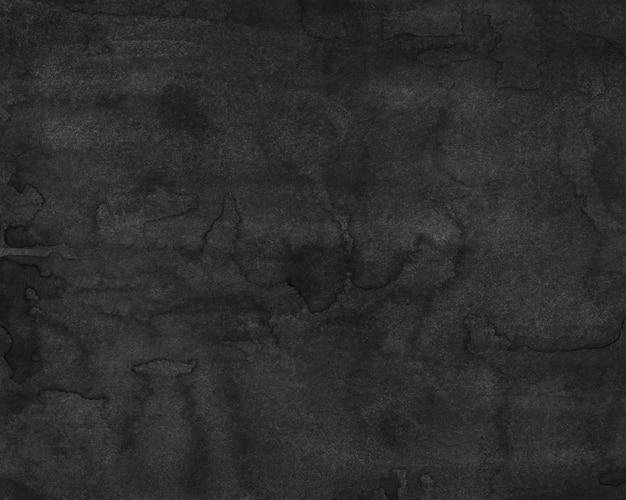 Watercolor black painting