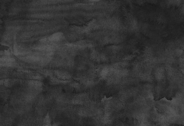 Watercolor black texture