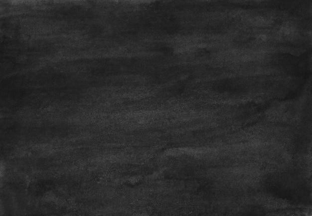 Watercolor black