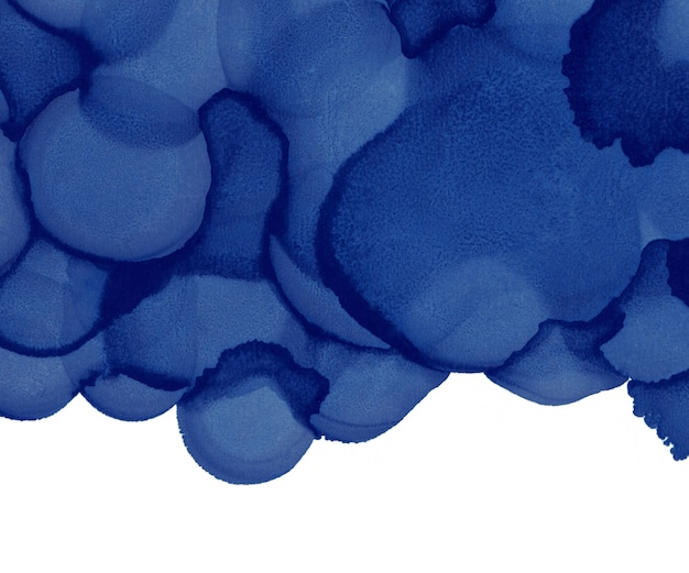 Watercolor blots background. abstract ink texture