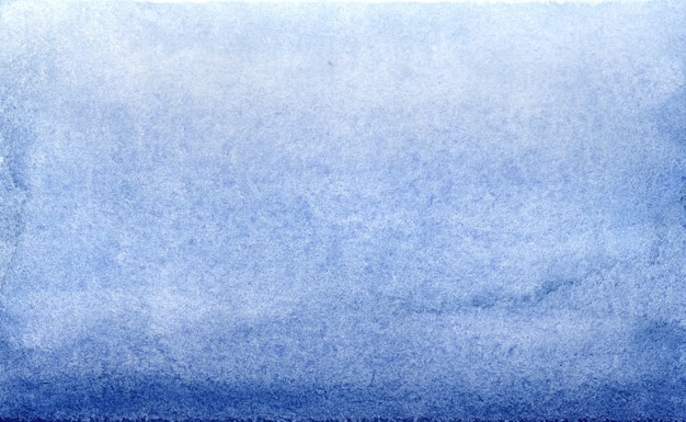 Watercolor blue brush strokes gradient background design.