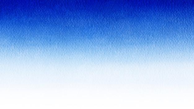 Акварельный синий градиент, как небо или морская вода