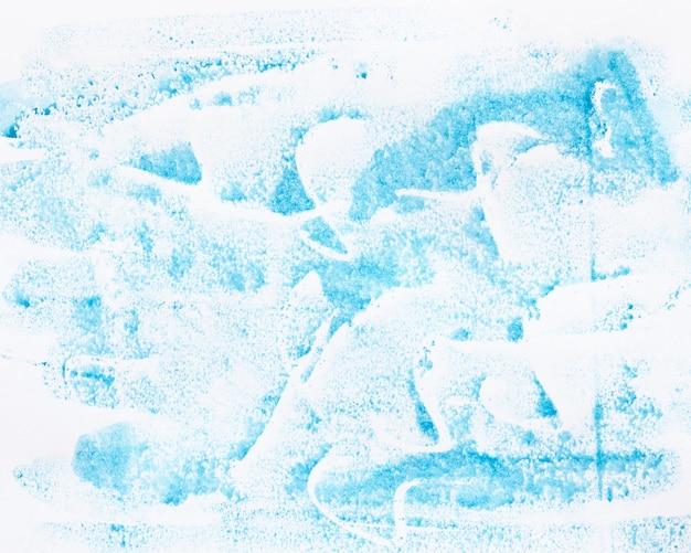 水彩の青い線