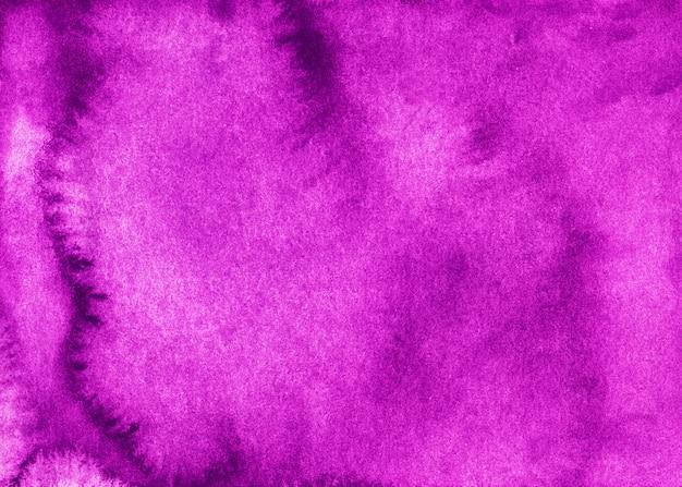 Акварель яркий фон фуксии. розовая винтажная текстура, ручная роспись.