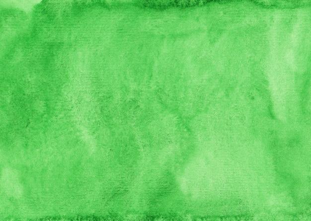 Акварель ярко-зеленый фоновой текстуры