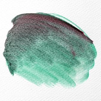水彩ブラシストロークのコンセプト