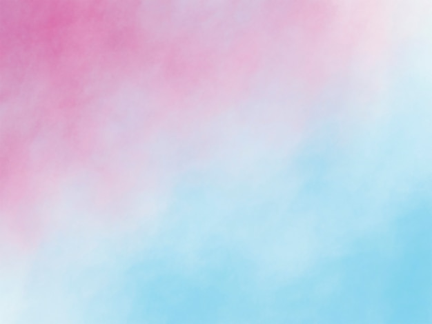 Watercolor brush strokes texture background