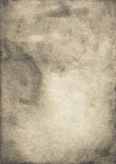 수채화 진정 갈색과 회색 배경 그림. 황갈색 색상 오버레이. 오래 된 양피지 배경 손으로 그린.