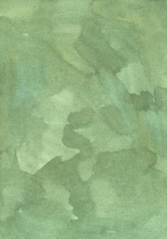 Watercolor calm dirty green