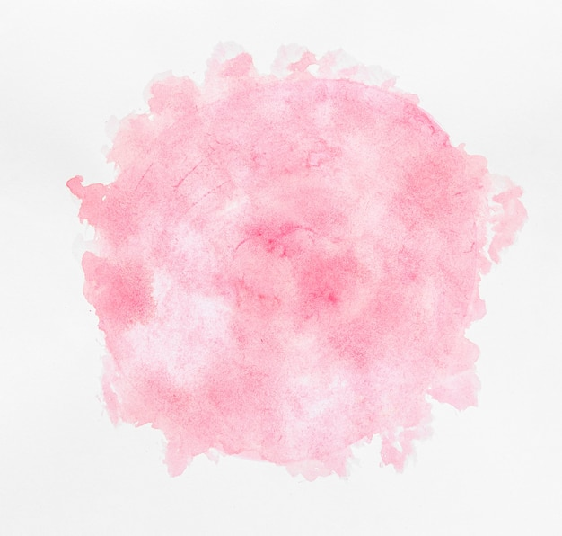 Watercolor copy space circular pink paint