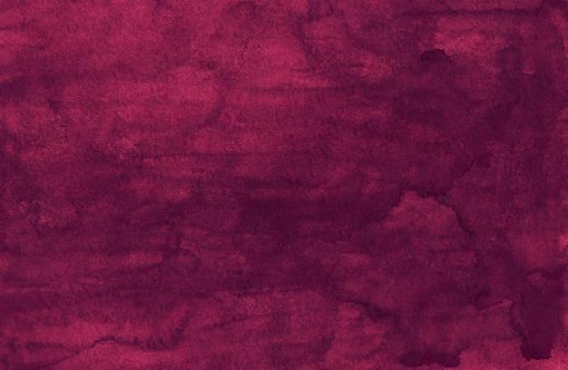 Watercolor crimson painting