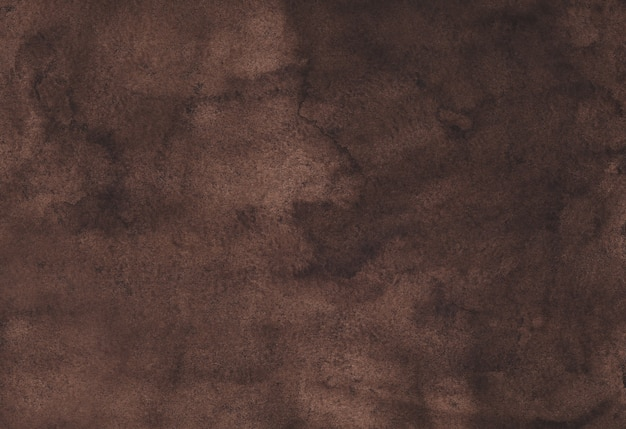 Watercolor dark brown background